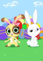 Easter Bunnies by ViralJP