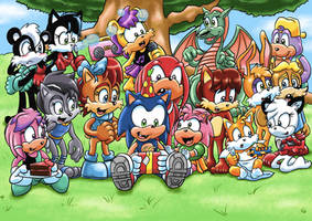 Sonic Kids Birthday Party by ViralJP