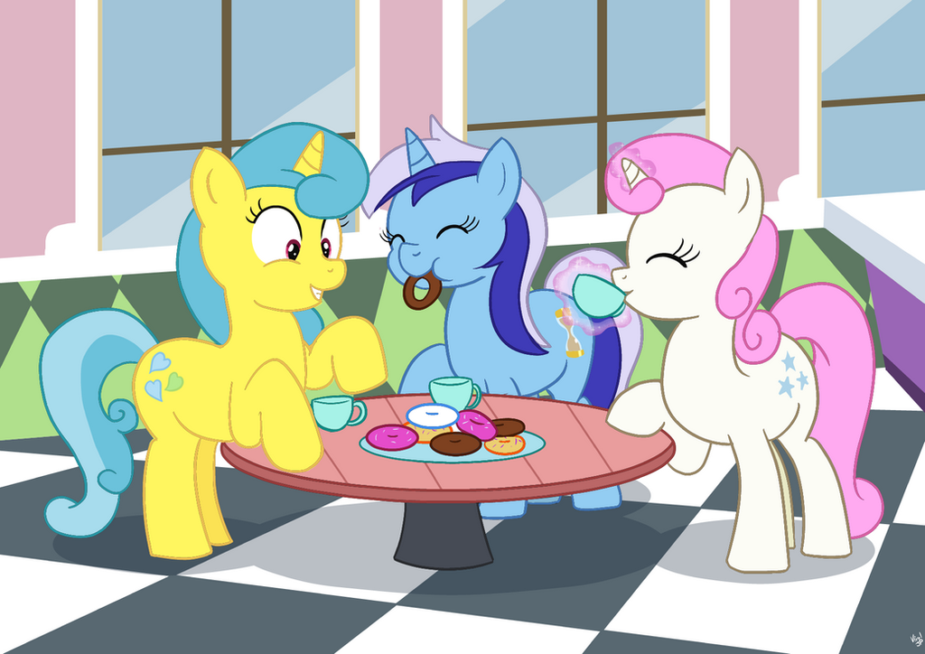COMM Tea and Donuts by ViralJP
