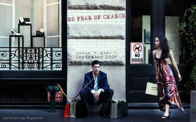 NO FEAR OF CHANGE by ddmagazine