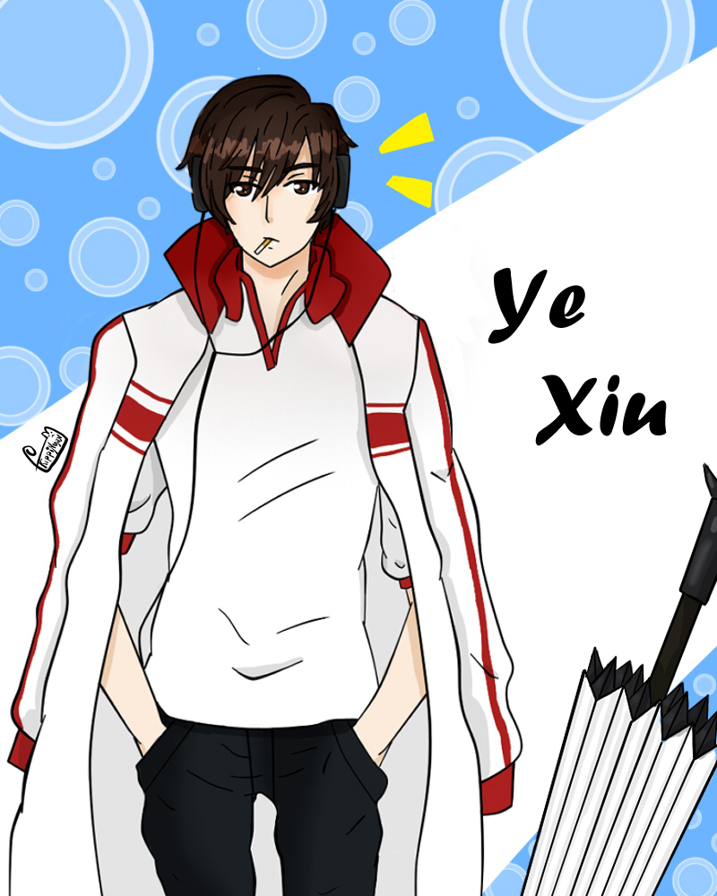 Ye xiu by kippiNyan