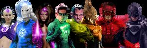Lantern Corps!