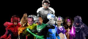 The Entire Lantern Corps!
