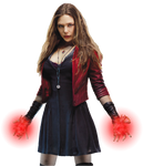 Avengers Scarlet Witch: Transparent Background!