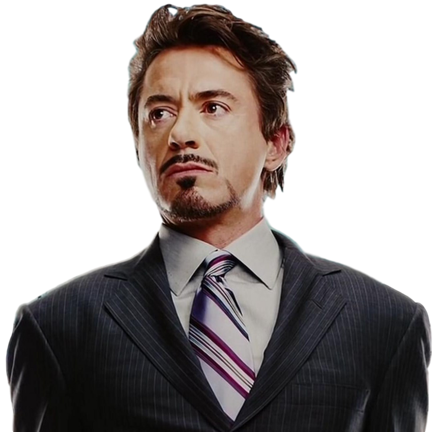 Tony Stark - Transpare...
