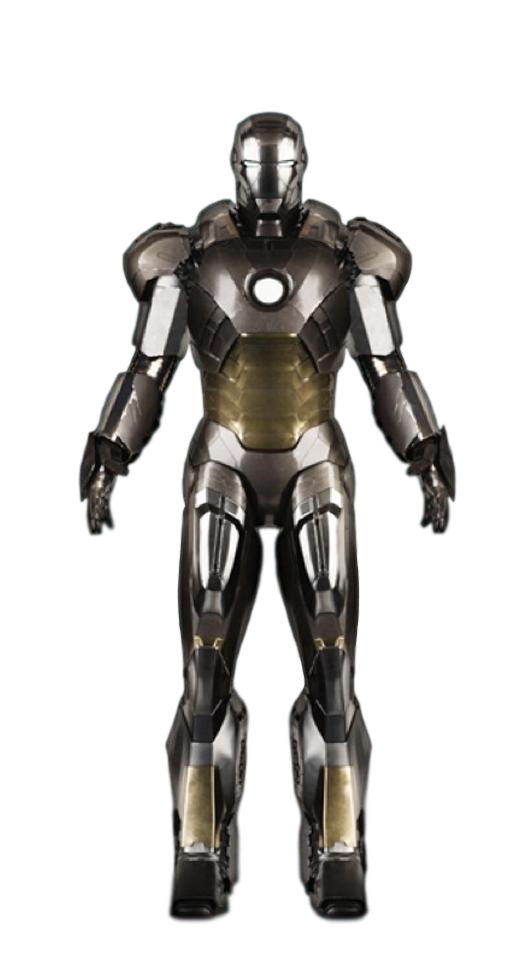 Iron Man Mk-12: Transparent Background! by Camo-Flauge on ...