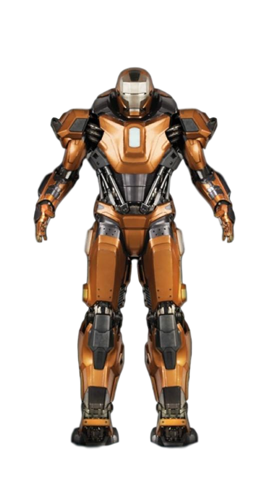 Iron Man Mark 36 ~ Iron man mk transparent background by camo flauge on