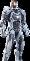 Iron Man Mk-39: Transparent Background!