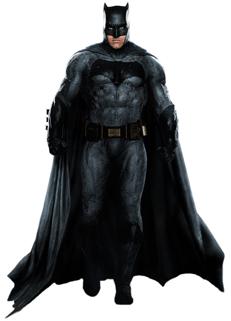 BVS' Batman (Full Body) - Transparent Background! by Camo ...