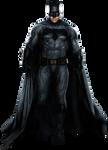 BVS' Batman (Full Body) - Transparent Background!