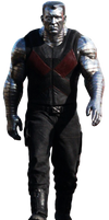 Deadpool's Colossus - Transparent Background! by Camo-Flauge