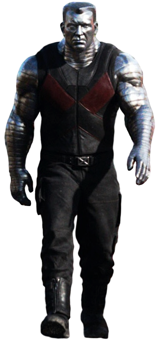 Deadpool's Colossus - Transparent Background! by Camo ...