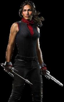 Daredevil's Elektra - Transparent Background!
