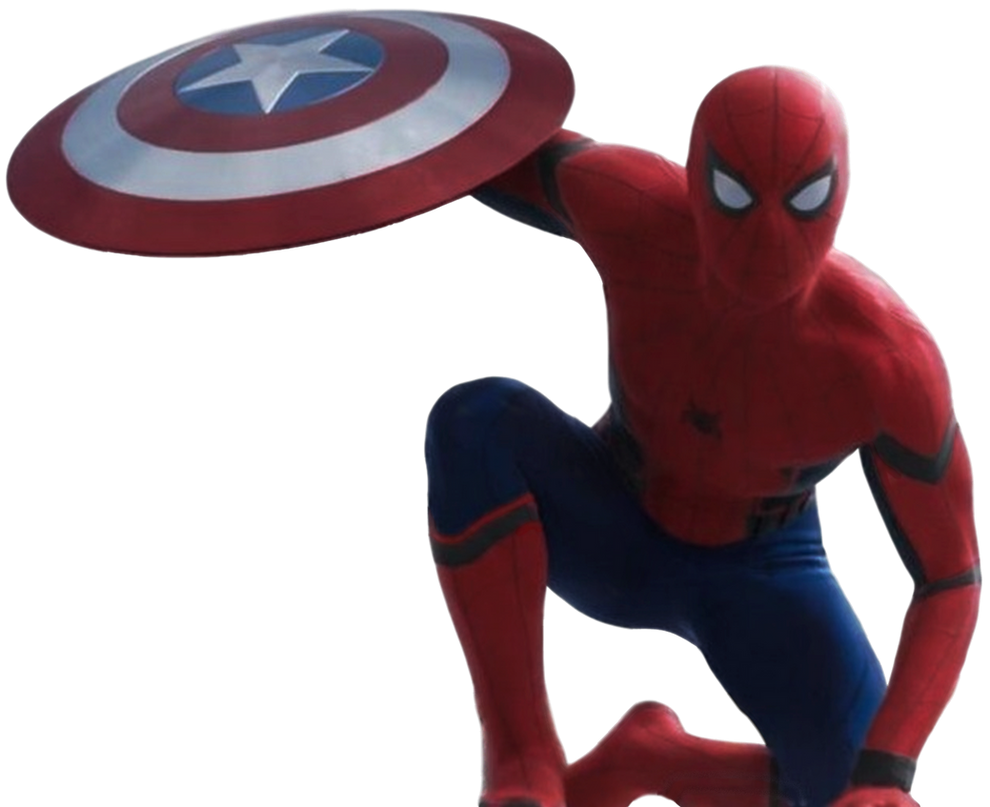 Civil War Spider Man Transparent Background By Camo Flauge