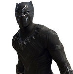 Civil War Black Panther - Transparent Background!