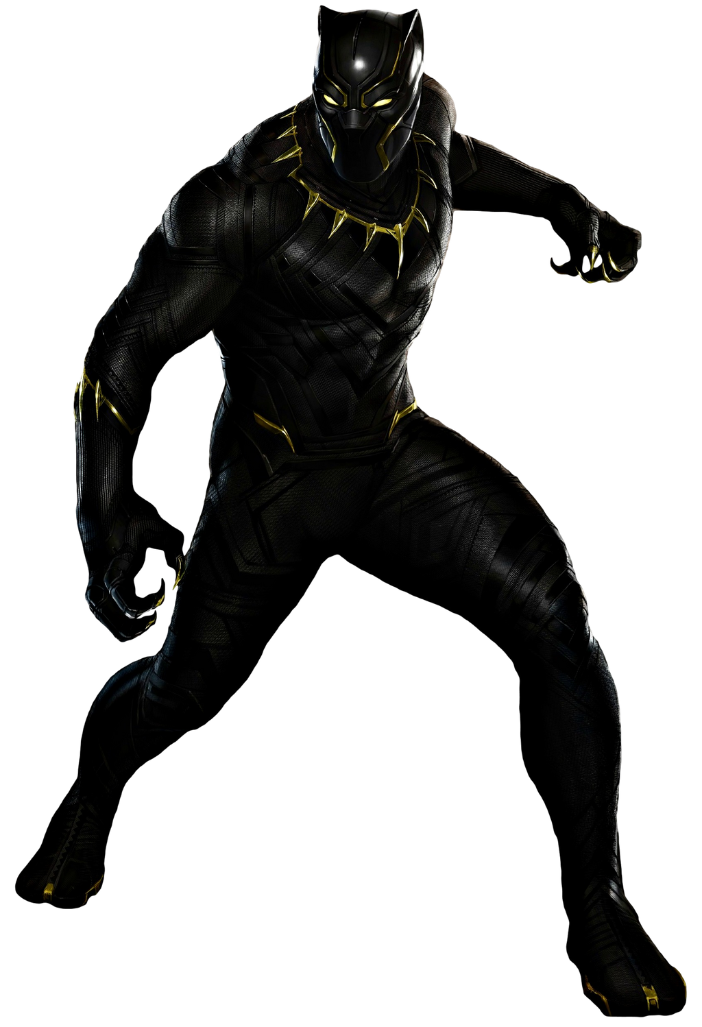 Black Panther - Transparent Background! by Camo-Flauge on ...
