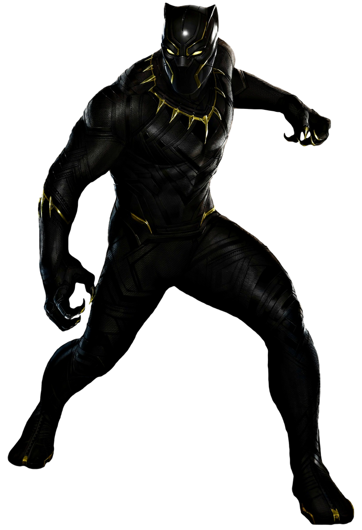 Black Panther Transparent Background By Camo Flauge On