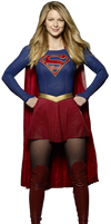 Supergirl - Transparent Background!