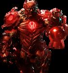 Red Lantern Atrocitus - Transparent Background!