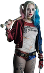 Suicide Squad's Harley Quinn - Transparent!