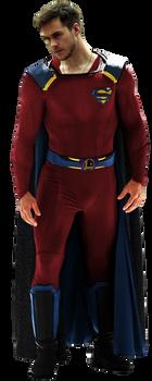 Chris Wood as Mon-El - Transparent Background!