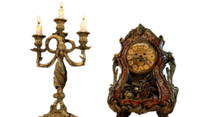 Disney's Lumiere and Cogsworth - Transparent!