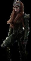Amber Heard as Mera - Tranparent Background!