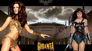 Giganta vs. Wonder Woman!