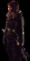 Arrow's Talia Al Ghul - Transparent Background!