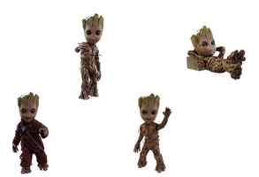 Baby Groot's - Transparent Background! by Camo-Flauge