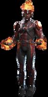Injustice 2: Firestorm - Transparent Background! by Camo-Flauge