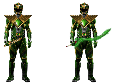 GREEN WITH ENVY - Green Ranger (Full Body)!
