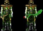 GREEN WITH ENVY - Green Ranger (Full Body)!
