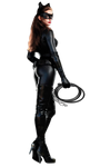Catwoman (with whip) - Transparent Background!