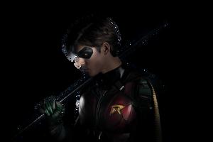 Titans: Robin - Transparent! by Camo-Flauge