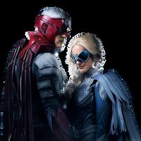 Titans: Hawk and Dove - Transparent! by Camo-Flauge