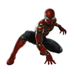 Iron Spider (no iron legs) - Transparent!