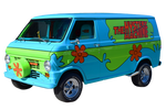 Scooby Doo's Mystery Machine - Transparent!