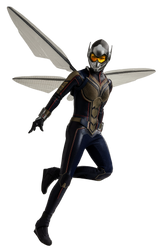 (Ant-Man and the) Wasp - Transparent! by Camo-Flauge