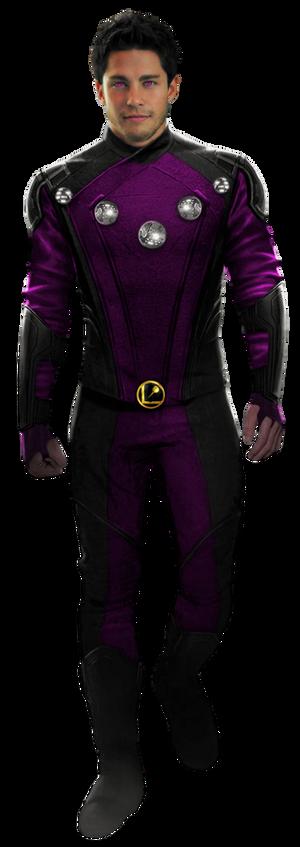 LoSH's Cosmic Boy - Transparent!