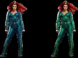 Aquaman: Mera (Original + Edit) - Transparent! by Camo-Flauge