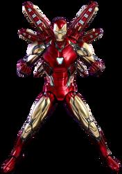 Endgame Iron Man: Mark 85 (2) - Transparent! by Camo-Flauge