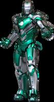 Iron Man Mark 31 (Piston) - Transparent!