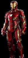 Iron Man Mark 50 (Model Prime) - Transparent!