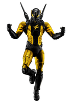 Yellowjacket (Hank Pym) - Transparent! by Camo-Flauge