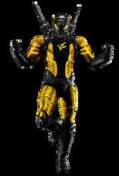 Yellowjacket (Hank Pym) - Transparent! by Camo-Flauge