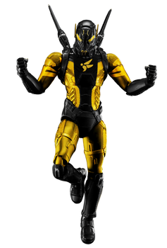 Yellowjacket (Hank Pym) - Transparent!