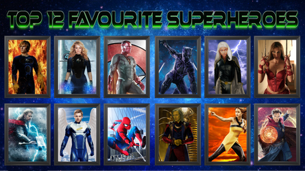 Favourite Marvel Heroes!