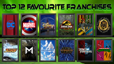 Favourite Movie and TV Franchises!