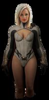 Power Girl - Transparent!